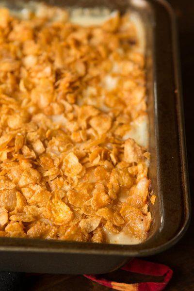 The Real Deal Cheesy Potato Casserole