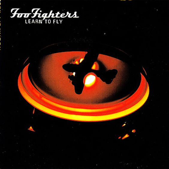 Foo Fighters – Learn to Fly (single cover art)