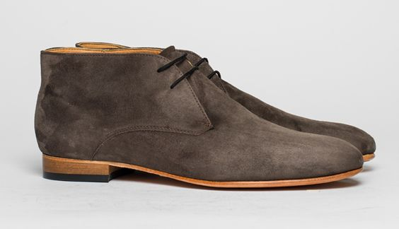 Lupe lace-up desert boots by Dieppa Restrepo,