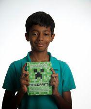 """Minecraft"" -- Daniel Goldberg -- (see book here: http://catalog.uwcsea.edu.sg/cataloging/servlet/presenttitledetailform.do?site=103&siteTypeID=-2&bibID=212820#)"