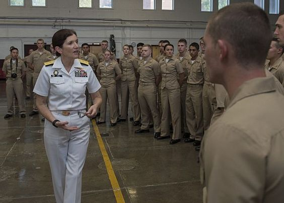 Rear Adm Peg Klein, senior advisor to the Secretary of Defense - shipboard security guard sample resume