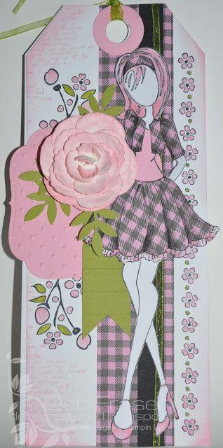 Debs Craft Shed: Julie Nutting Doll Stamp