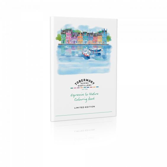 Tobermory colouring book