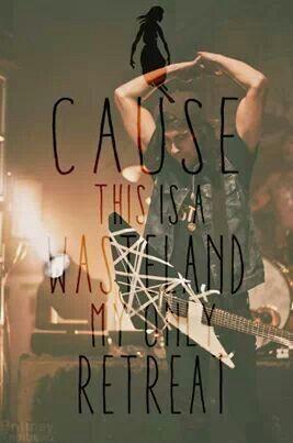 Pierce the veil lyrics ♡