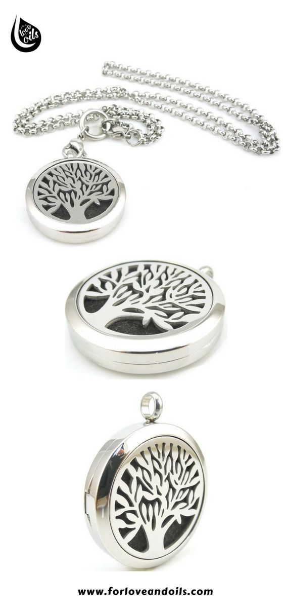 Tree of Life Diffuser Necklace allows you to enjoy aromatherapy everywhere!