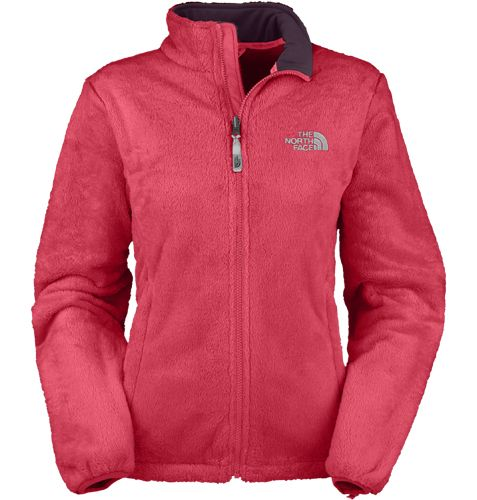 The North Face® Lady&39s Osito Shaggy Fleece Jacket Teaberry Pink