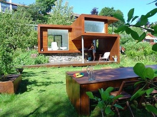Surprising Modular Summer House By Tommie Wilhelmsen Tiny Summer House Design Largest Home Design Picture Inspirations Pitcheantrous