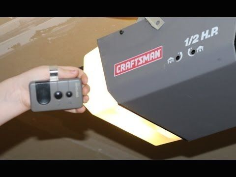 Craftsman Garage Door Openers Sears Craftsman 1 2 Hp Garage Door Opener 99 99 Craftsman Garage Door Garage Doors Garage Door Opener
