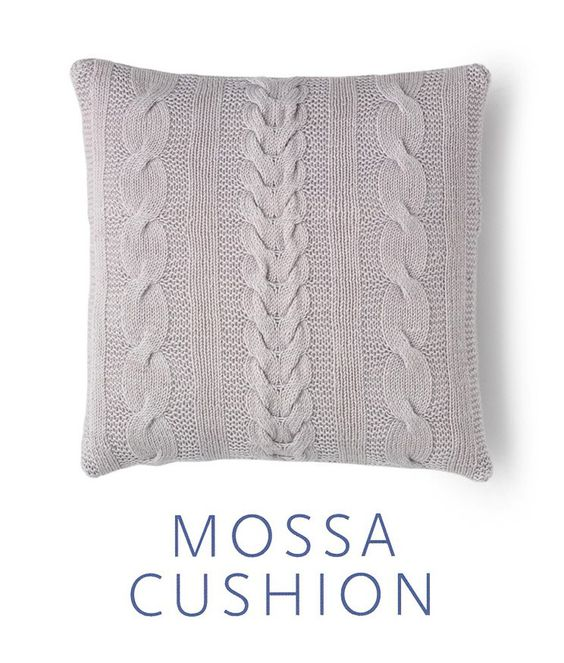 Wool Cushion Knitting Pattern : Cushion covers, Cushions and Merino wool on Pinterest
