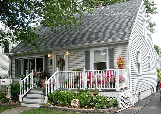 Porches Front Porches And Cape Cod On Pinterest