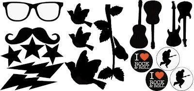 trois planches de motifs en PDF pour plastique fou      Il y en a pour tous les goûts : moustaches, étoiles, éclairs, lunettes, oiseaux, rock... Peut-être que je ferai d'autres planches sur d'autres thèmes mais je vais attendre un peu !    Pour télécharger :        Moustac (à retrouver chez creactivités : http://www.creactivites.com/47-plastique-fou-ou-plastique-dingue-activites-manuelles-enfants)