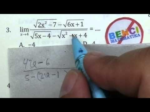 Soal Matematika Limit Dan Jawabannya
