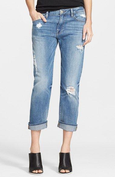 Women's Frame Denim 'Le Grand Garcon' Destroyed Slim Boyfriend Jeans (Amherst)