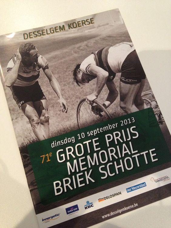 Desselgem Koerse 2013 - affiche, programmabrochure