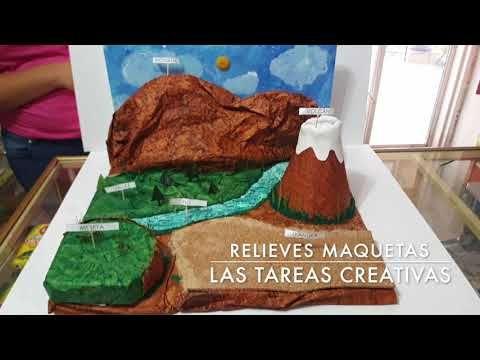 Cómo Hacer Maqueta Del Relieve Y Ecosistemas Proyecto Escolar En Porcelana Fría Plastilina You Maqueta De Relieve Maquetas Para Niños Como Hacer Maquetas
