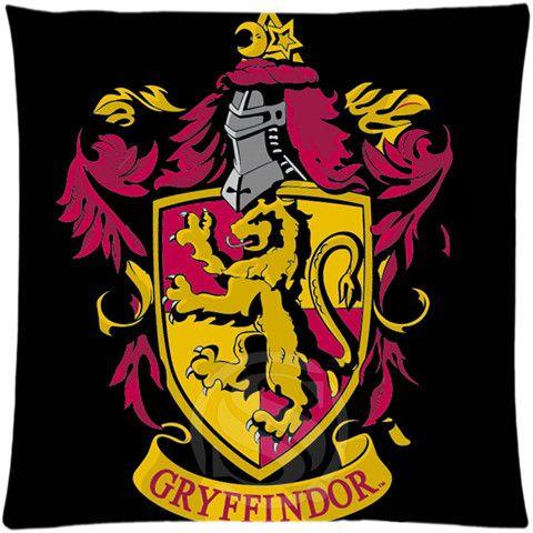 "Harry Potter Hogwarts School Cushion Pillowcase Covers 18""x18"" Twin Sides"