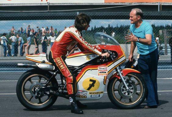Suzuki RG 500 with Barry Sheene
