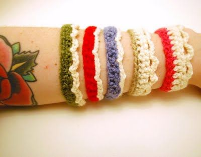 Free and simple bracelet pattern