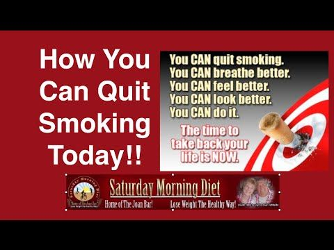 How You Can Quit Smoking Today!