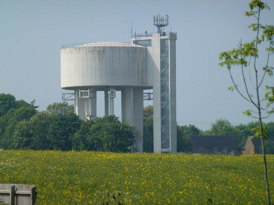 Chettisham (Nr Ely) Water Tower, Cambridgeshire.