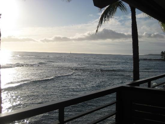 Koa Kea Hotel & Resort:                   View from the room, Poipu, Kauai