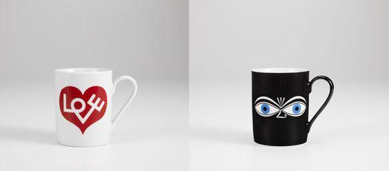 Alexander Girard Kaffeetassen von Vitra