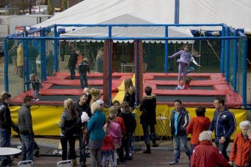 Attractieverhuur De Toren - Multi trampoline