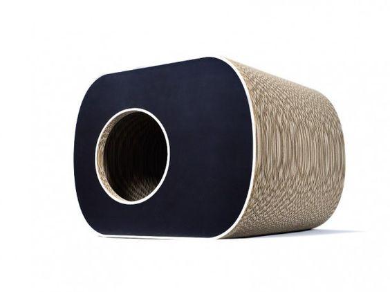 griffoir niche en carton pour chat brochhaus jnr griffoir niche en carton pour chat pinterest. Black Bedroom Furniture Sets. Home Design Ideas