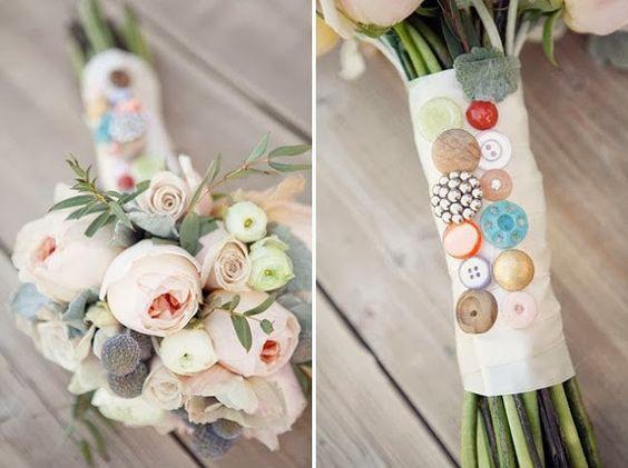 Casamento feito à mão: Para noivas craft {detalhe do buquê}