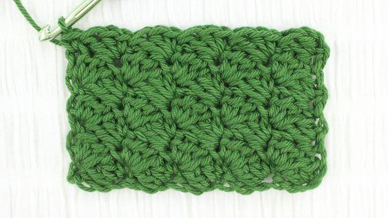 Sedge Stitch Crochet Tutorial