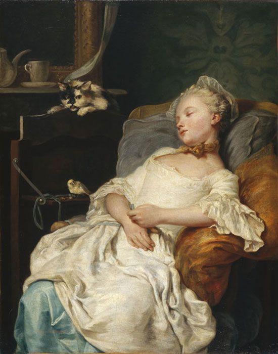 Jean-François Gilles, dit Colson (Dijon, 1733 – Paris, 1803) - Le Repos, 1759. Мusée des beaux-arts dijon
