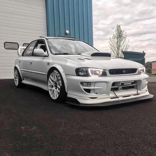 White Subie Via Reddit Subaru Impreza Subaru Wrx Subaru Impreza Sti