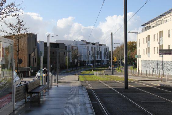 Вид с трамвайной остановки