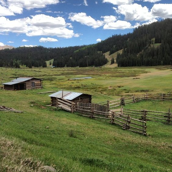 Instagram photo by @preservecolorado. Harris Ranch, preserved with help from a SHF grant, is on the back side of Durango Mountain Ski Resort (formerly Purgatory). Well worth a scenic drive up the hill in summer. #statehistoricalfund #preserveco #historicalpreservation #ranches #historicranches #DurangoCO #LasAnimasCounty