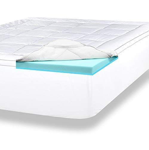 Viscosoft 4 Inch Pillow Top Gel Memory Foam Mattress Topp Https Www Dp B0 Top Memory Foam Mattress Memory Foam Mattress Topper Layered Mattress