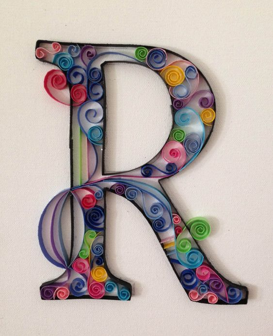 R - papel quilling
