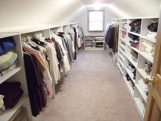 Ankleidezimmer dachschräge modern  walk in wardrobe with eaves - Google Search | Walk In Wardrobe ...