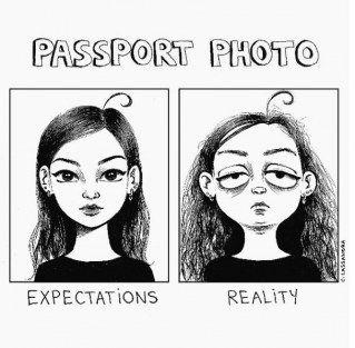 Passfotos: Erwartungen vs. Realität