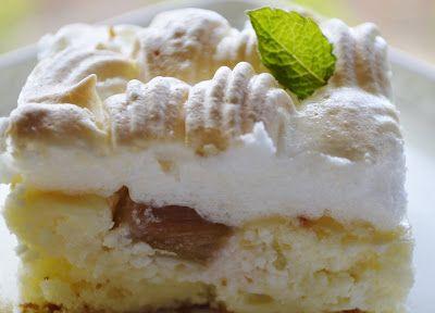Rebarborovo-tvarohovy zakusok s penou: Rebarborovo Tvarohovy, Kuchyne Rebarborovo, Tvarohovy Zakusok, Desserts Sweets