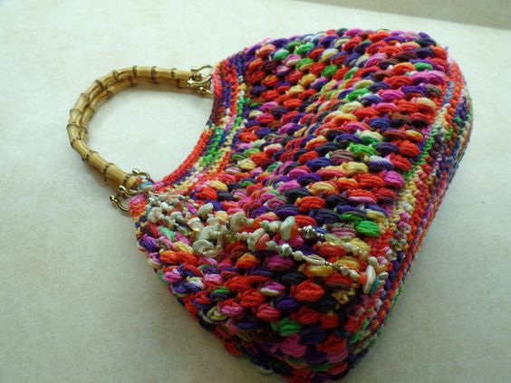 Crochet Bags And Purses Tutorial : Shops, Tutorials and Purses on Pinterest