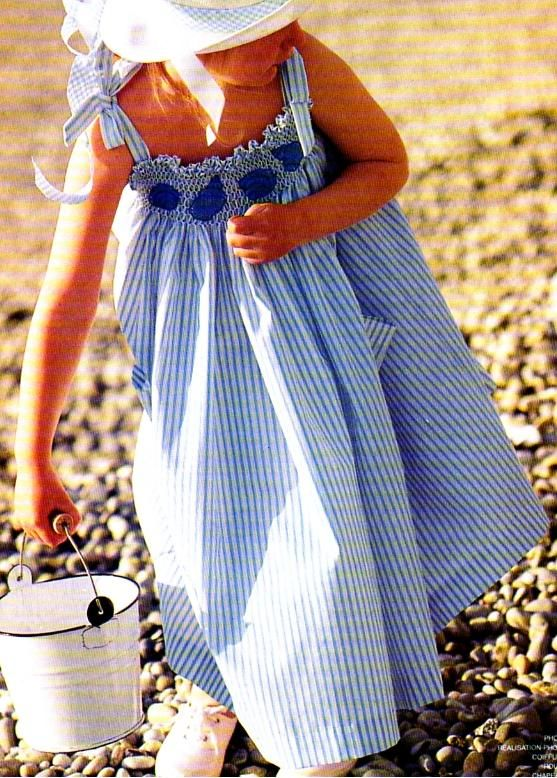 Couture la robe smocks la boutique du tricot et des - Magasins de loisirs creatifs ...