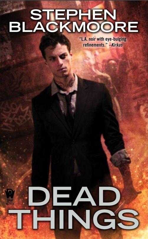 Dead Things  #urbanfantasyseries