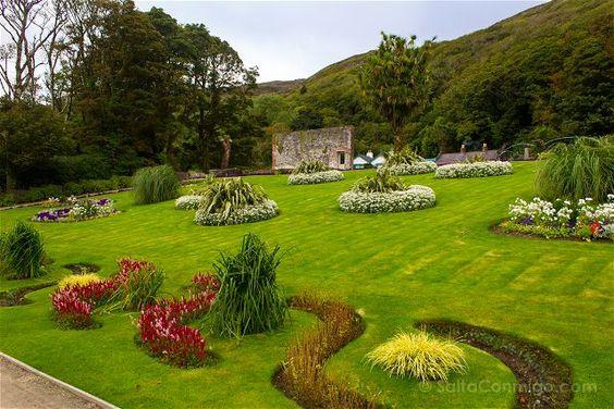 Los jardines de la abadía de Kylemore