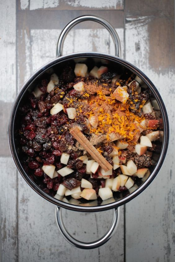 Fruit Mince A great filling for pies etc. Use a vegan sweetener like maple or date. #vegan #glutenfree