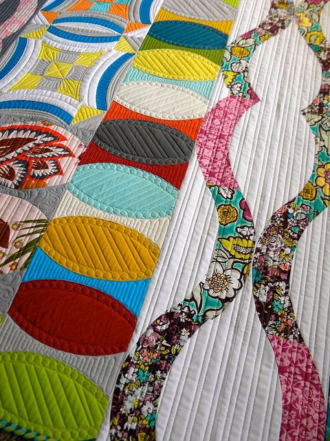 Urban Sampler Quilt by Sew Kind of Wonderful