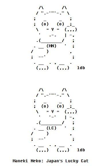 One Line Ascii Art Beach : Ascii artist art by ldb text