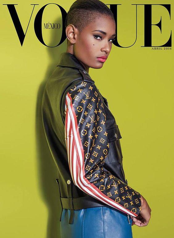 Ysaunny Brito Covers Vogue Mexico April 2016