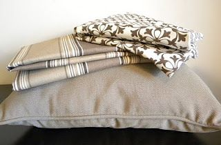 Easy Pillow Covers