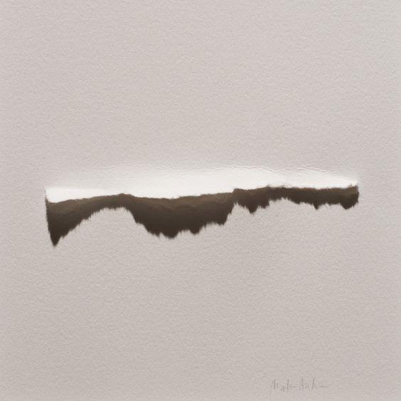 Marks Aardsma | Torn paper