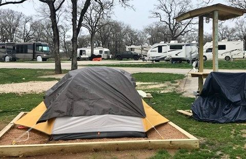 Premium Tent Site At The Newly Built Austin East Koa Holiday Tent Site Koa Tent